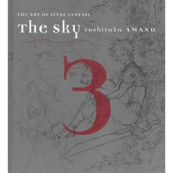 THE SKY THE ART OF FINAL FANTASY VOL.03 NEW
