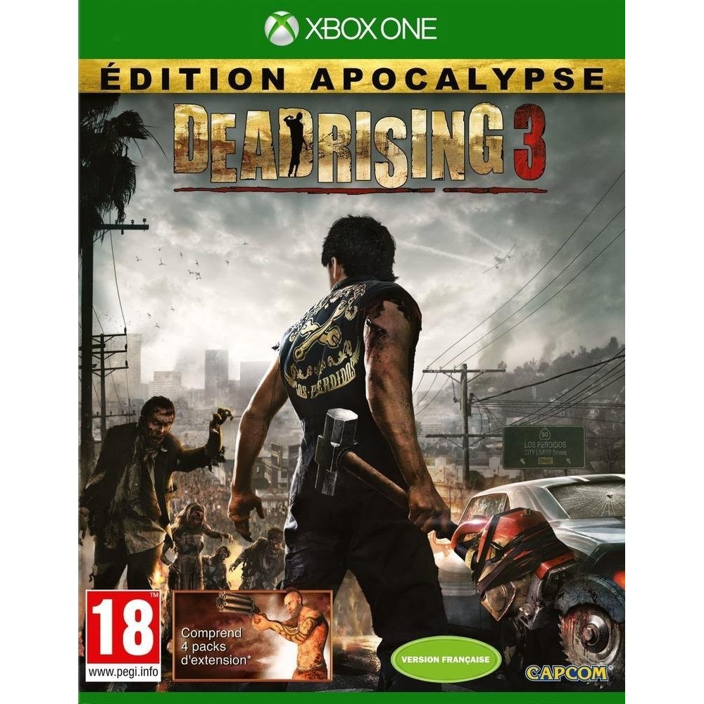 DEAD RISING 3 EDITION APOCALYPSE XBOX ONE FR NEW