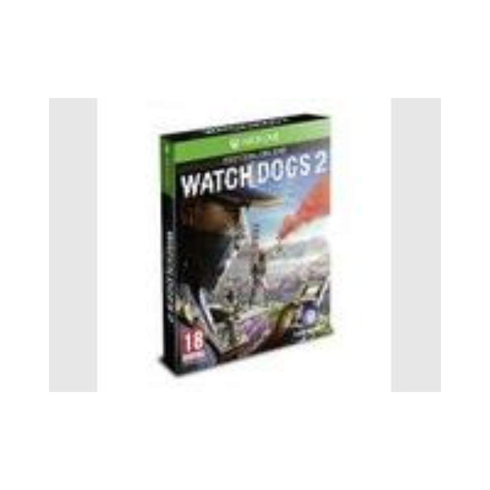 WATCH DOGS 2 EDITION DELUXE XONE FRANCAIS OCCASION