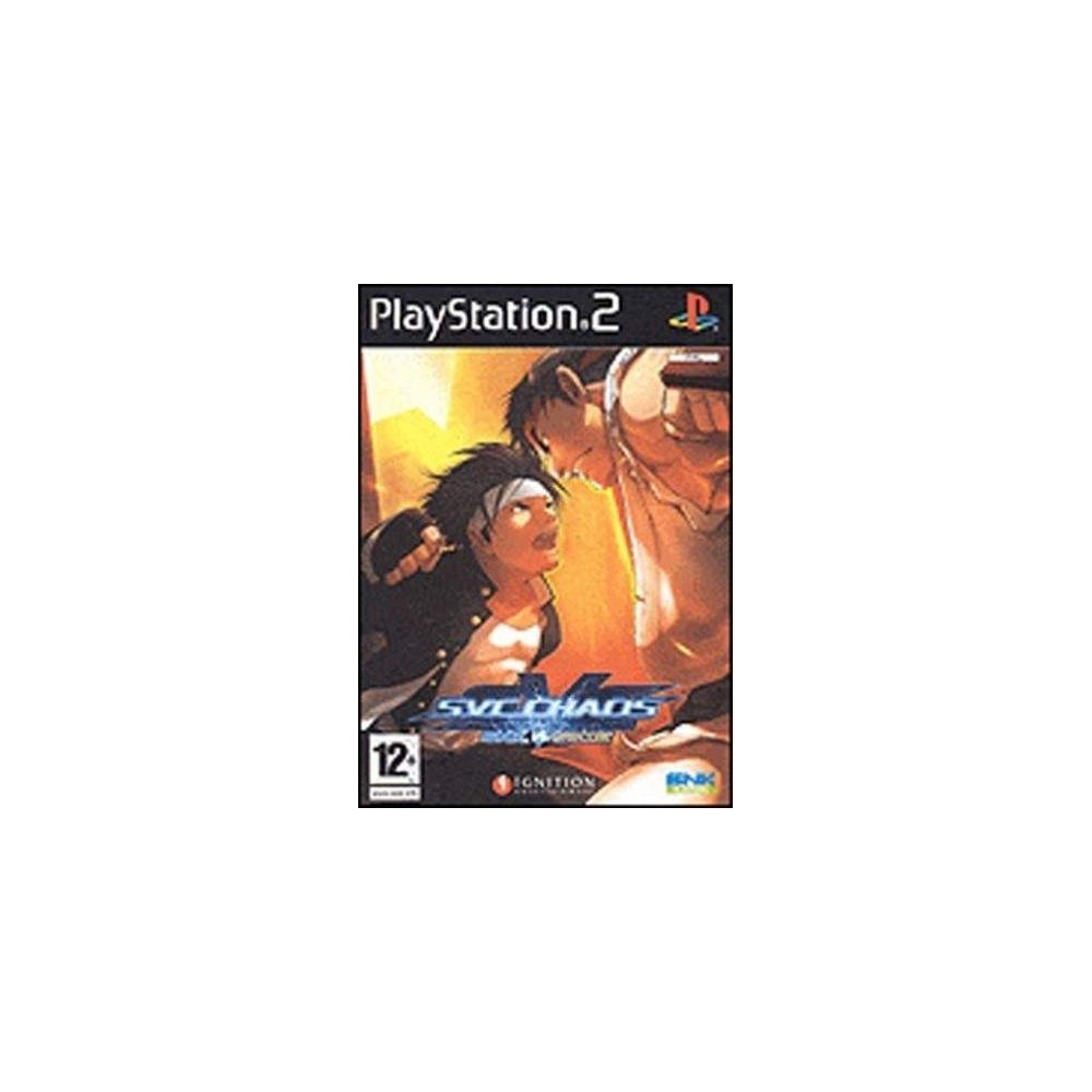 SNK VS CAPCOM: SVC CHAOS PS2 PAL-FR OCCASION