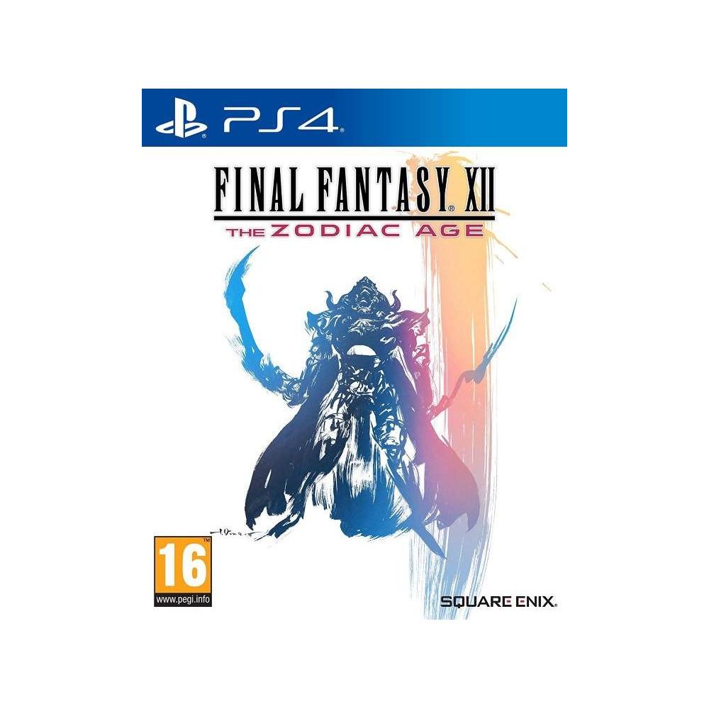FINAL FANTASY XII THE ZODIAC AGE PS4 FR NEW