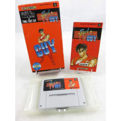 FINAL FIGHT GUY SFC NTSC JPN OCCASION