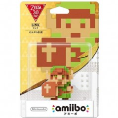 AMIIBO THE LEGEND OF ZELDA LINK PIXEL JAP NEW