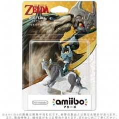 AMIIBO THE LEGEND OF ZELDA WOLF LINK JAP NEW