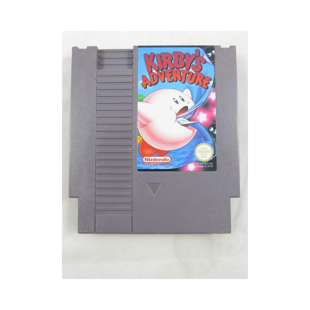KIRBY'S ADVENTURE NES PAL B FRA LOOSE