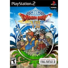 DRAGON QUEST VIII : JOURNEY OF THE CURSED KING PS2 NTSC-USA OCCASION