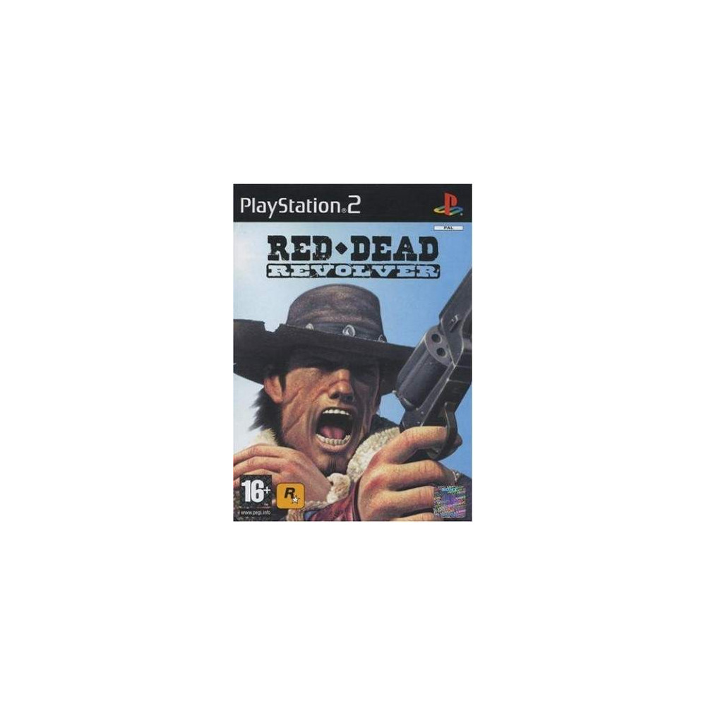 RED DEAD REVOLVER PS2 PAL-FR OCCASION