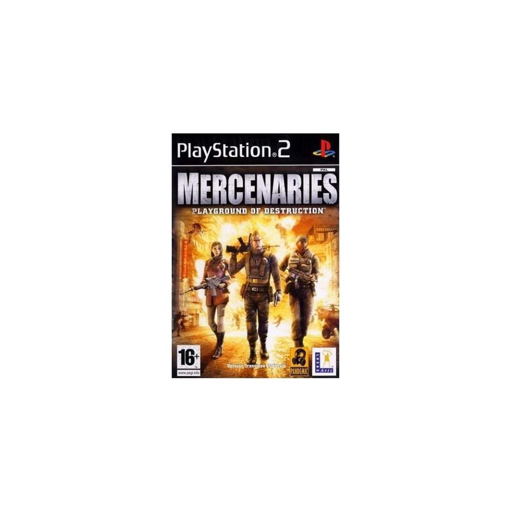 MERCENARIES : PLAYGROUND OF DESTRUCTION PS2 PAL-FR OCCASION