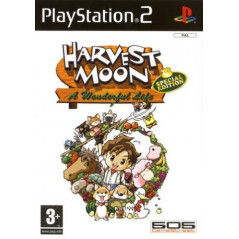 HARVEST MOON PS2 PAL-FR OCCASION
