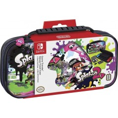 TRAVEL CASE SPLATOON 2 OFFICIAL SWITCH EURO NEW