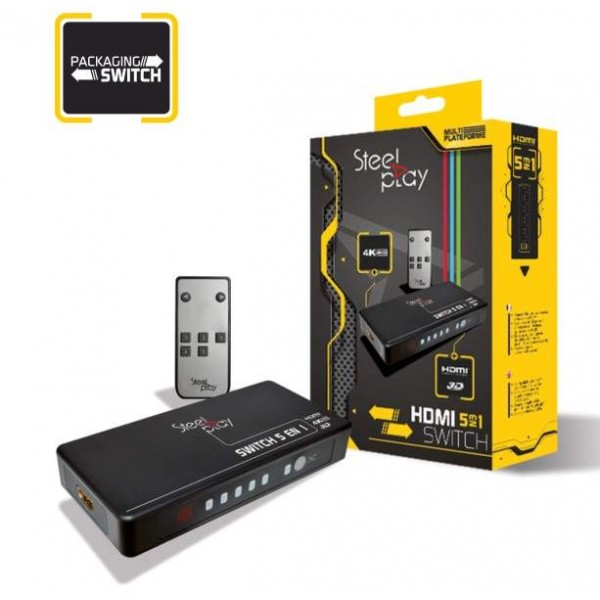 STEELPLAY HDMI SWITCH 5 IN 1 NEW