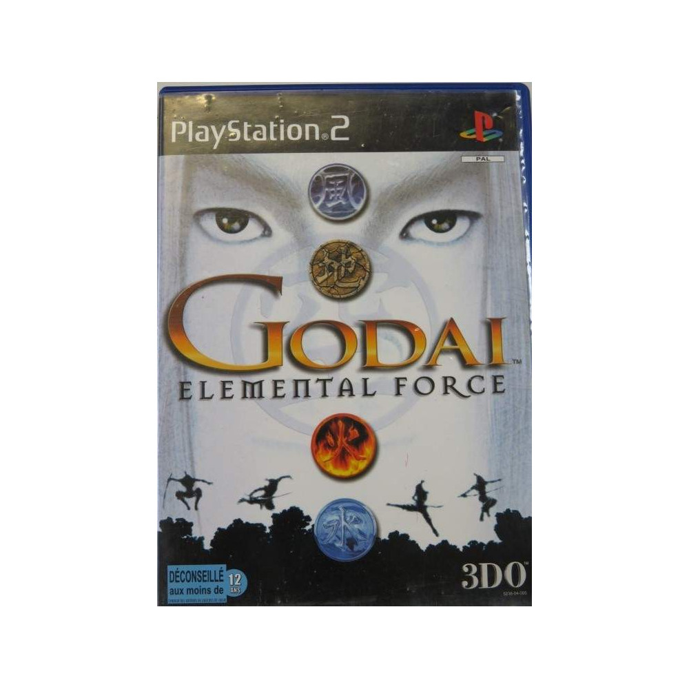 GODAI ELEMENTAL FORCE PS2 PAL-FR OCCASION