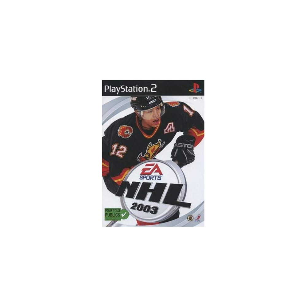 NHL 2003 PS3 PAL-FR OCCASION