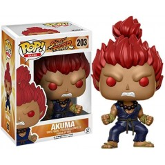STREET FIGHTER BOBBLE HEAD POP AKUMA NEW