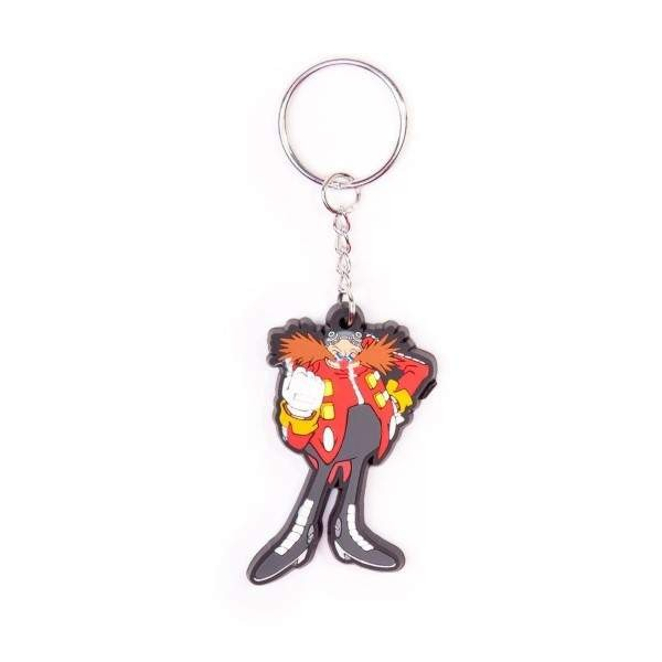 PORTE CLES SONIC THE HEDGEHOG DR EGGMAN EURO NEW