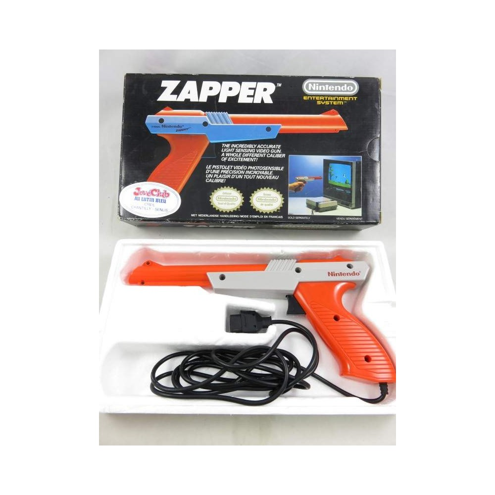 ZAPPER NES ORANGE FAH OCCASION EN BOITE