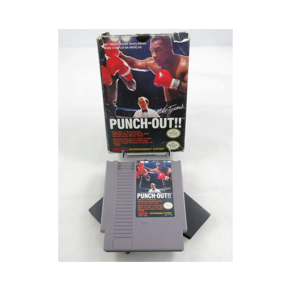 MIKE TYSON'S PUNCH-OUT!! NES PAL-B FAH (SANS NOTICE)