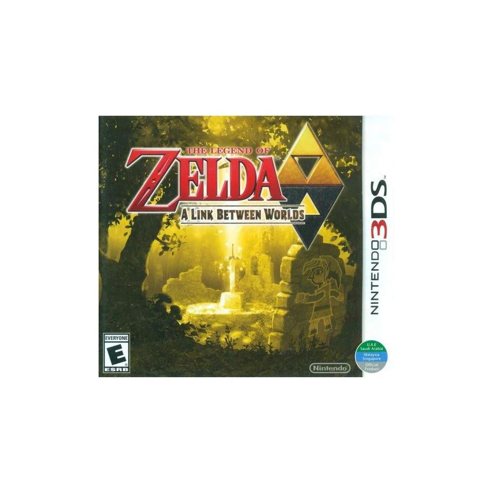 THE LEGEND OF ZELDA A LINK BETWEEN WORLDS 3DS US OCCASION