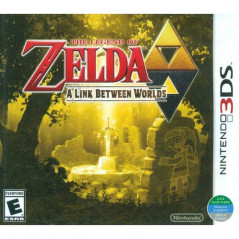 THE LEGEND OF ZELDA A LINK BETWEEN WORLDS 3DS US OCCASION