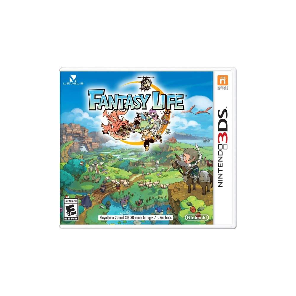 FANTASY LIFE 3DS US OCCASION