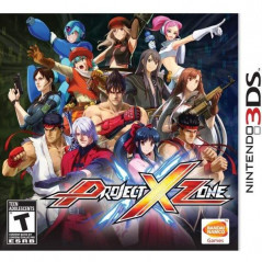 PROJECT X ZONE 3DS US OCCASION