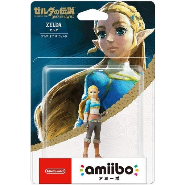 AMIIBO ZELDA BREATH OF THE WILD NTSC-JPN NEW