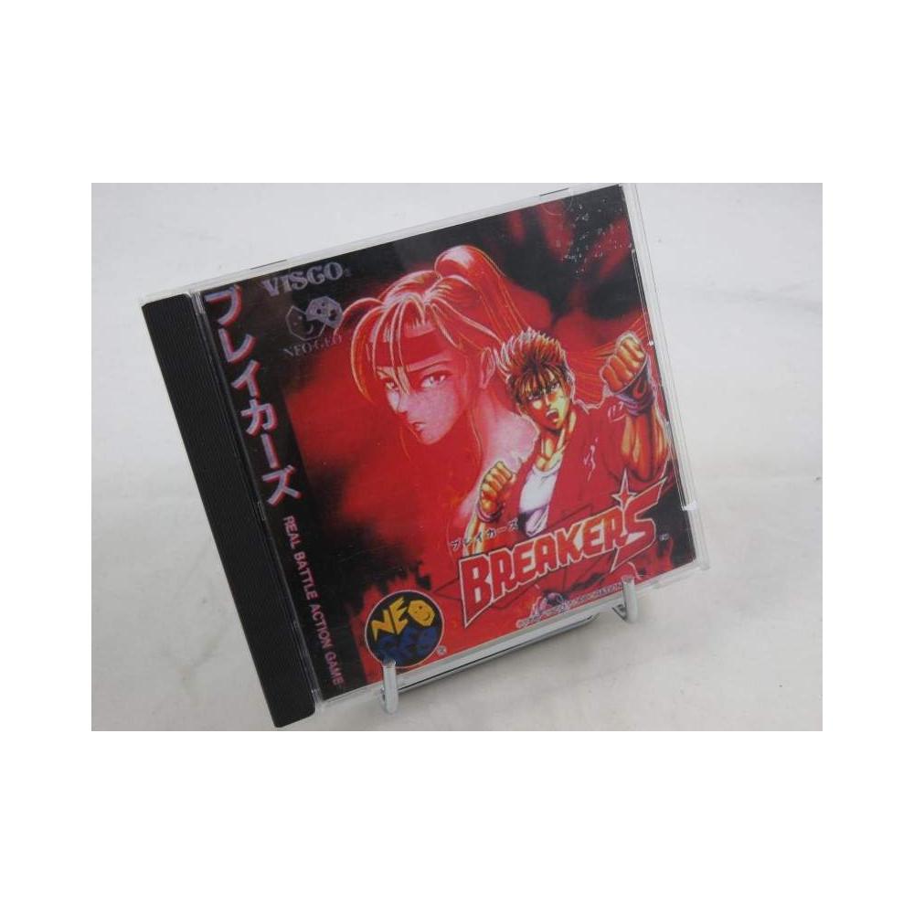 BREAKERS NEO GEO CD NTSC-JPN OCCASION (JAQUETTE PHOTOCOPIE)