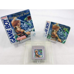 FORTRESS OF FEAR (WIZARDS & WARRIORS X) GAMEBOY FAH OCCASION