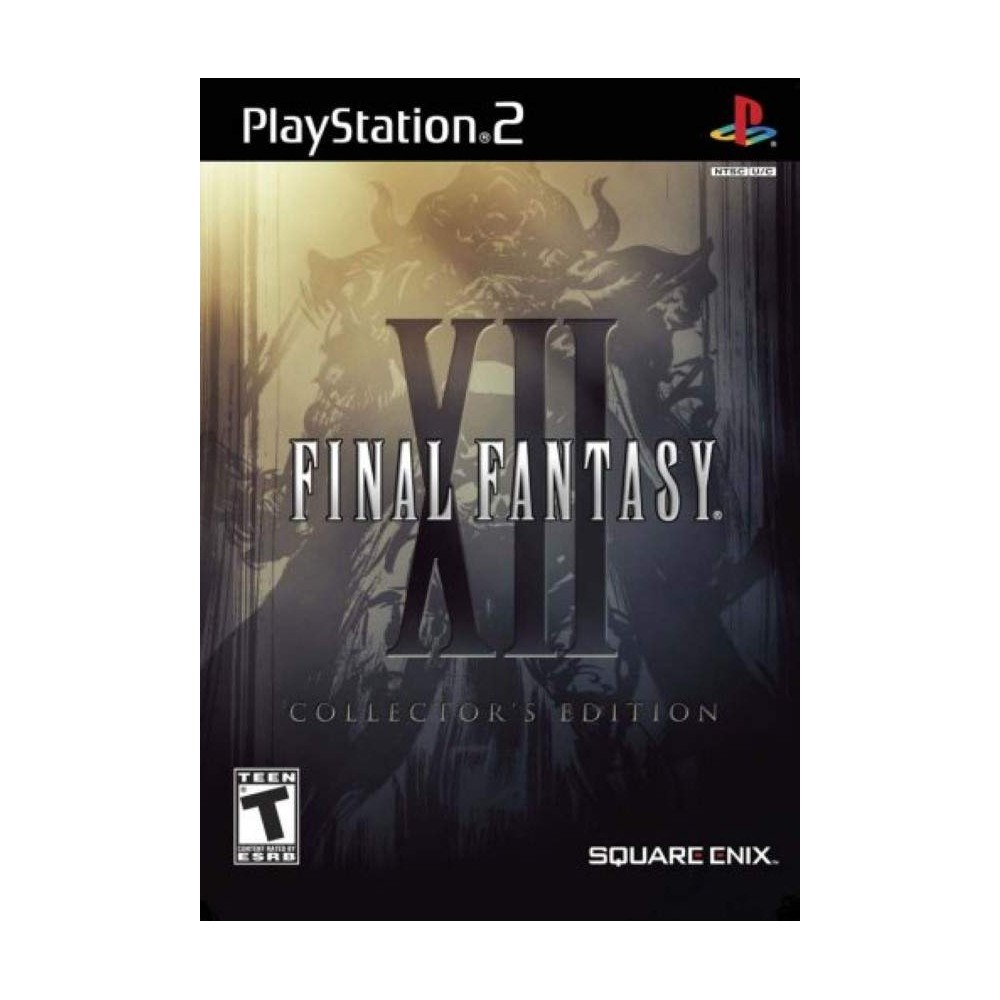 FINAL FANTASY XII PS2 NTSC-JPN OCCASION