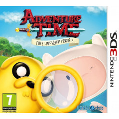 ADVENTURE TIME FINN ET JAKE MENENT L ENQUETE 3DS FR