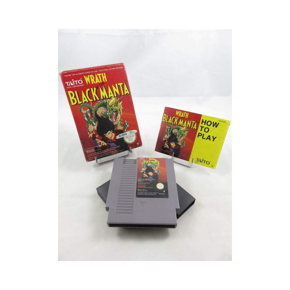 WRATH OF THE BLACK MANTA NES PAL B FRA OCCASION