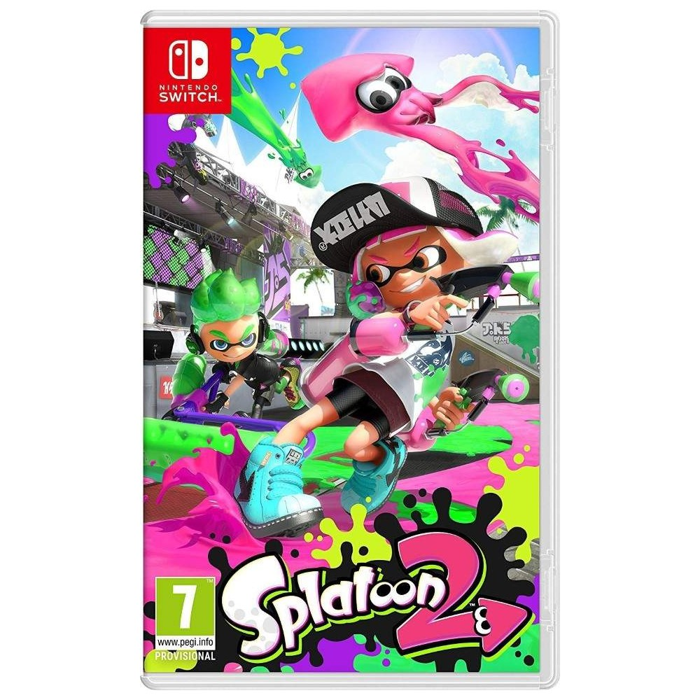 SPLATOON 2 SWITCH FR NEW