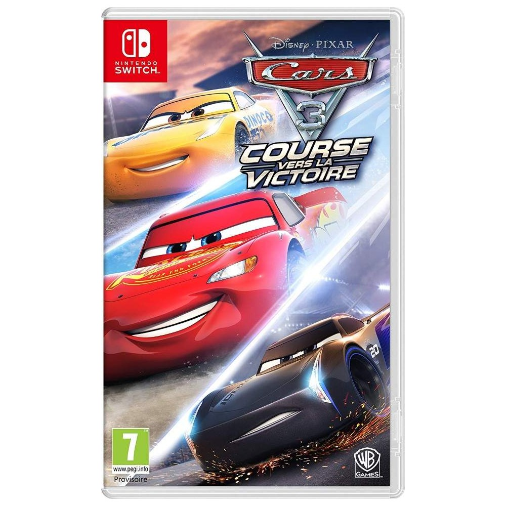 achat cars 3 course vers la victoire switch fr new jeu nintendo switch 64443 trader games. Black Bedroom Furniture Sets. Home Design Ideas