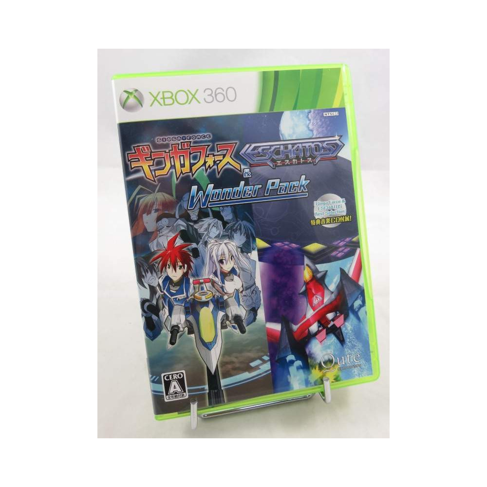 GINGA FORCE & ESCHATOS WONDER PACK XBOX 360 NTSC-JPN OCCASION