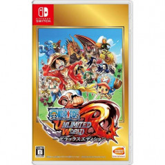 ONE PIECE: UNLIMITED WORLD R DELUXE EDITION SWITCH NTSC-JPN NEW