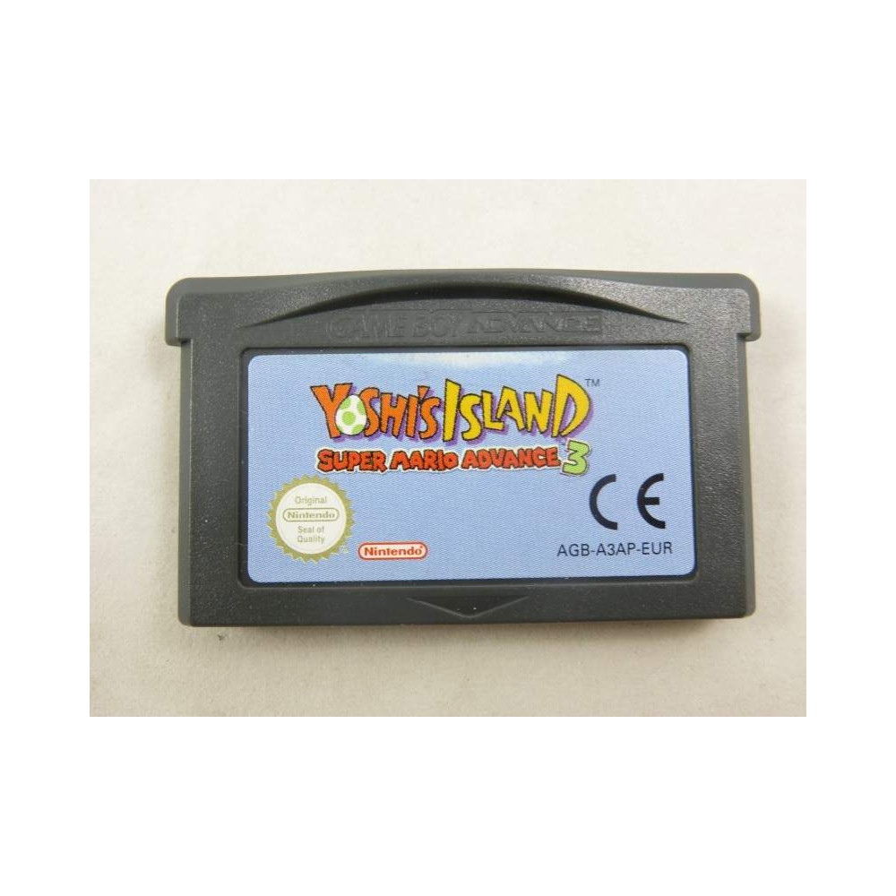 SUPER MARIO ADVANCE 3 YOSHI GBA EUR LOOSE