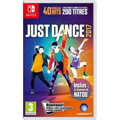 JUST DANCE 2017 SWITCH EURO FRANCAIS NEW