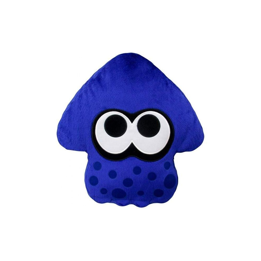 SPLATOON 2 PLUSH BRIGHT BLUE SQUID CUSHION JAP NEW