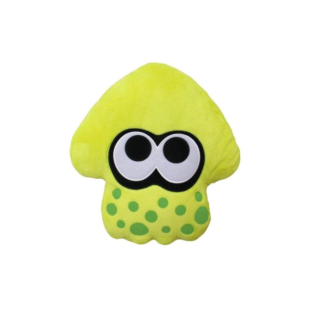 SPLATOON 2 PLUSH NEON YELLOW SQUID CUSHION JAP NEW