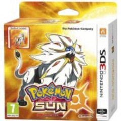 POKEMON SUN FAN EDITION 3DS PAL-UK OCCASION