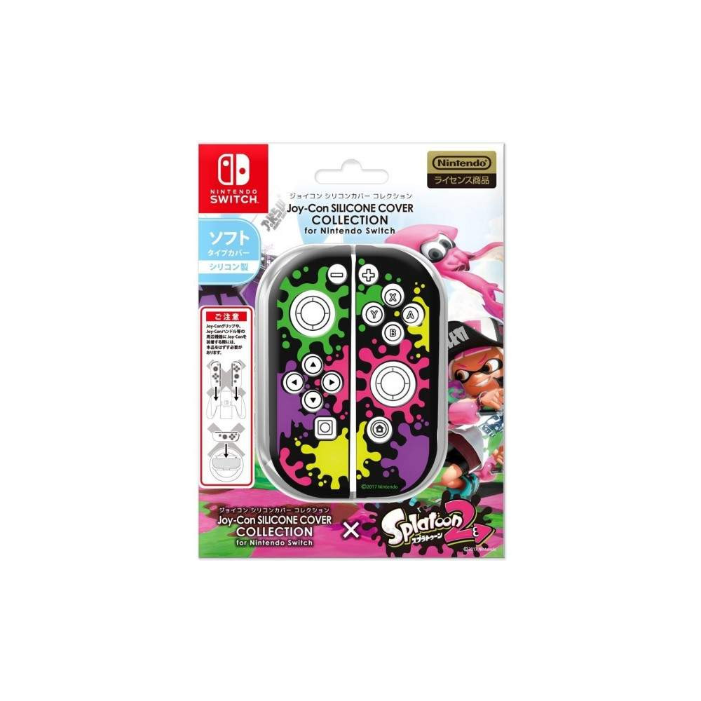 JOY-CON SILICONE COVER SPLATOON 2 TYPE A SWITCH JAP NEW