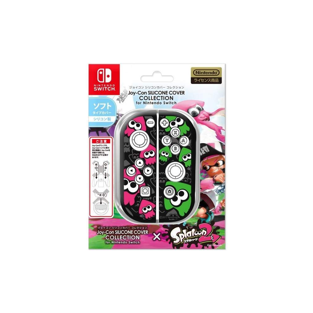 JOY-CON SILICONE COVER SPLATOON 2 TYPE B SWITCH JAP NEW