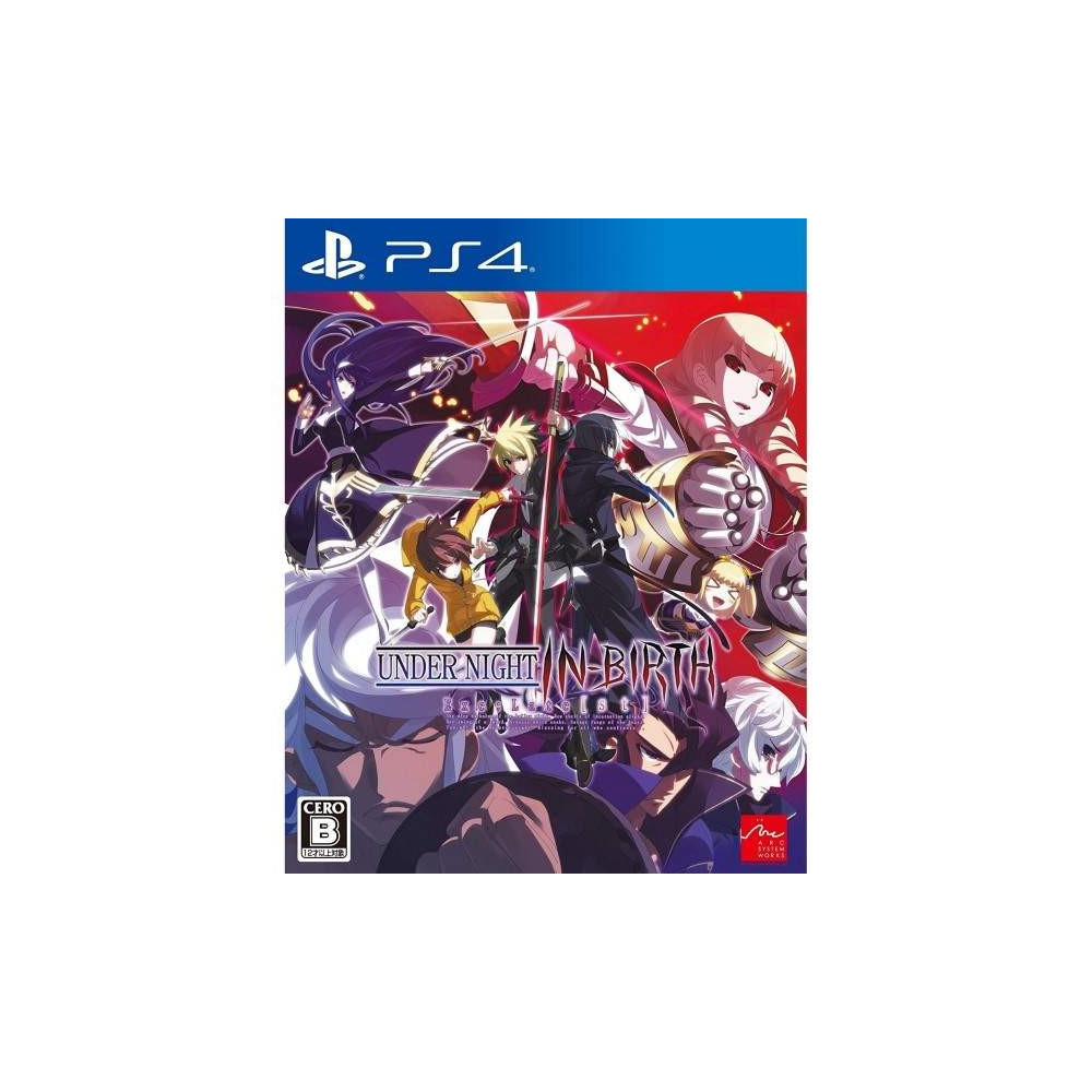 UNDER NIGHT IN BIRTH EXE LATE ST PS4 JAP NEW