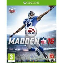MADDEN NFL 16 XONE FR OCCASION