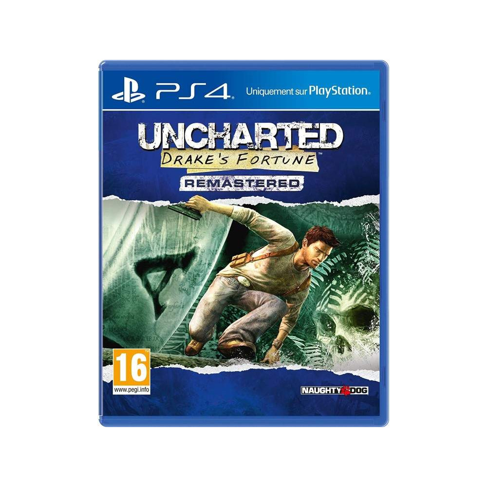 UNCHARTED DRAKE S FORTUNE REMASTERED PS4 FRANCAIS OCCASION