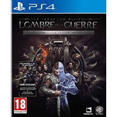 L'OMBRE DE LA GUERRE: SILVER EDITION PS4 PAL FR