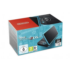 CONSOLE NEW NINTENDO 2DS XL NOIR + TURQUOISE EURO NEW