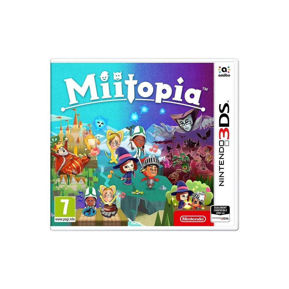 MIITOPIA 3DS UK NEW