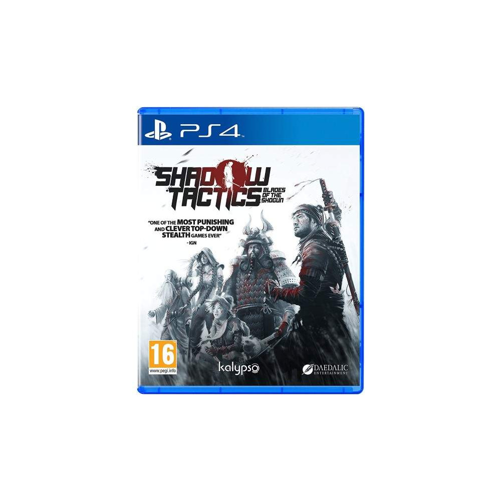 SHADOW TACTICS BLADES OF THE SHOGUN PS4 UK NEW