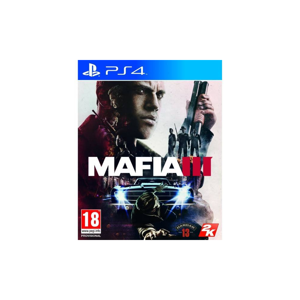 MAFIA 3 DELUXE EDITION PS4 EURO FR OCCASION